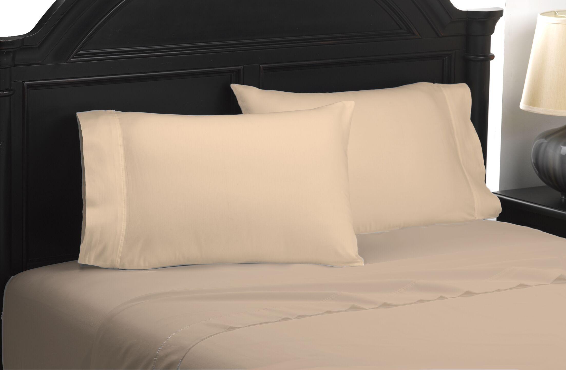 Exquisite Hotel 600 Thread Count 100% Cotton Sheet Set Size: Queen, Color: Bronze