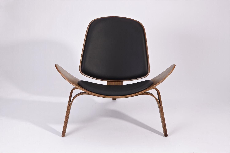 Dandre Lounge Chair Upholstery: Black