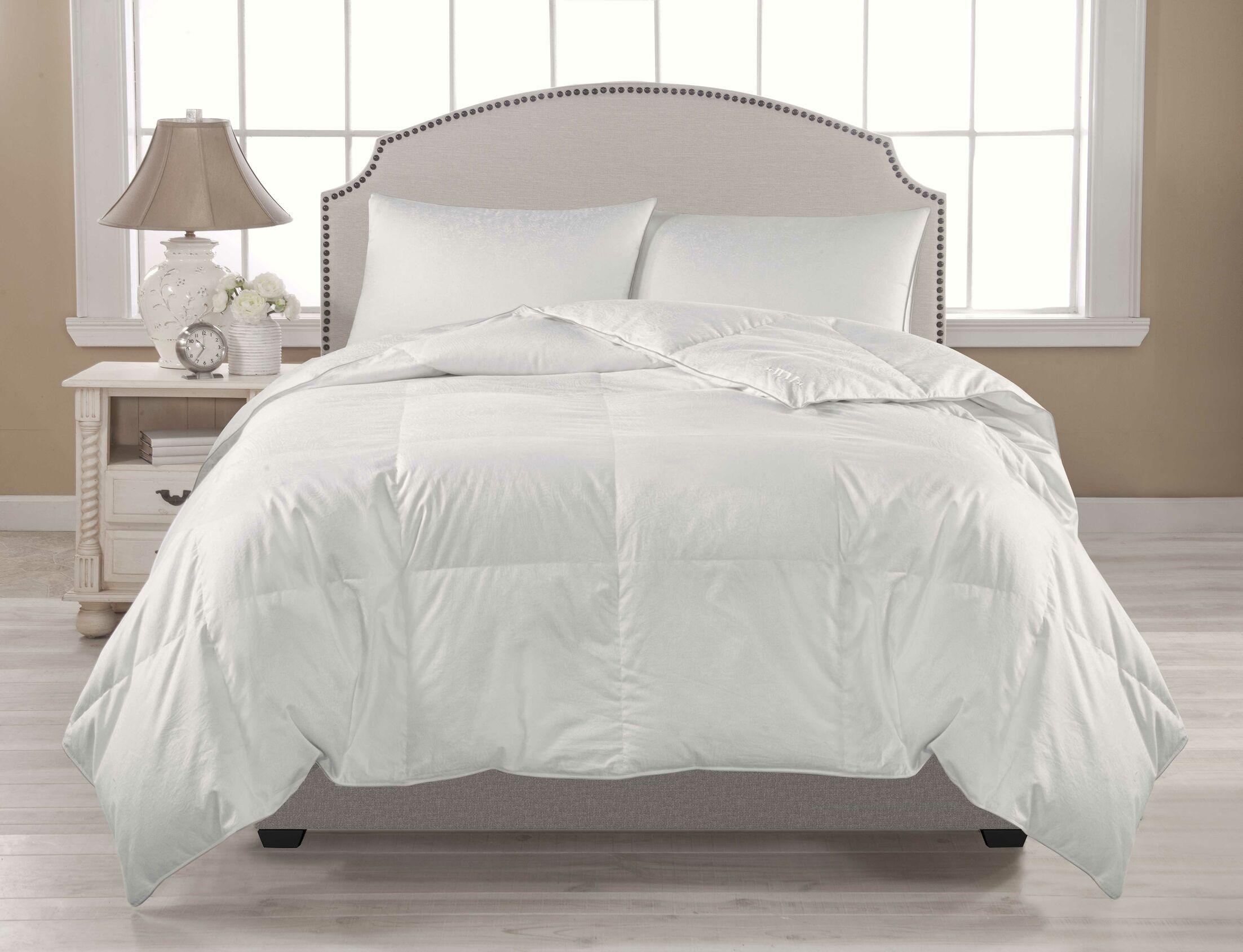All Season Down Comforter Size: King