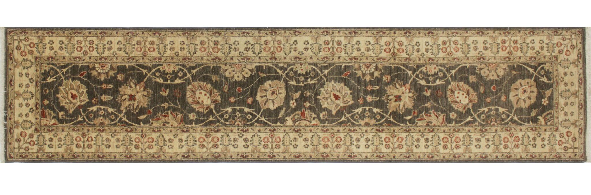 One-of-a-Kind Montague Hand-Knotted Gray Area Rug