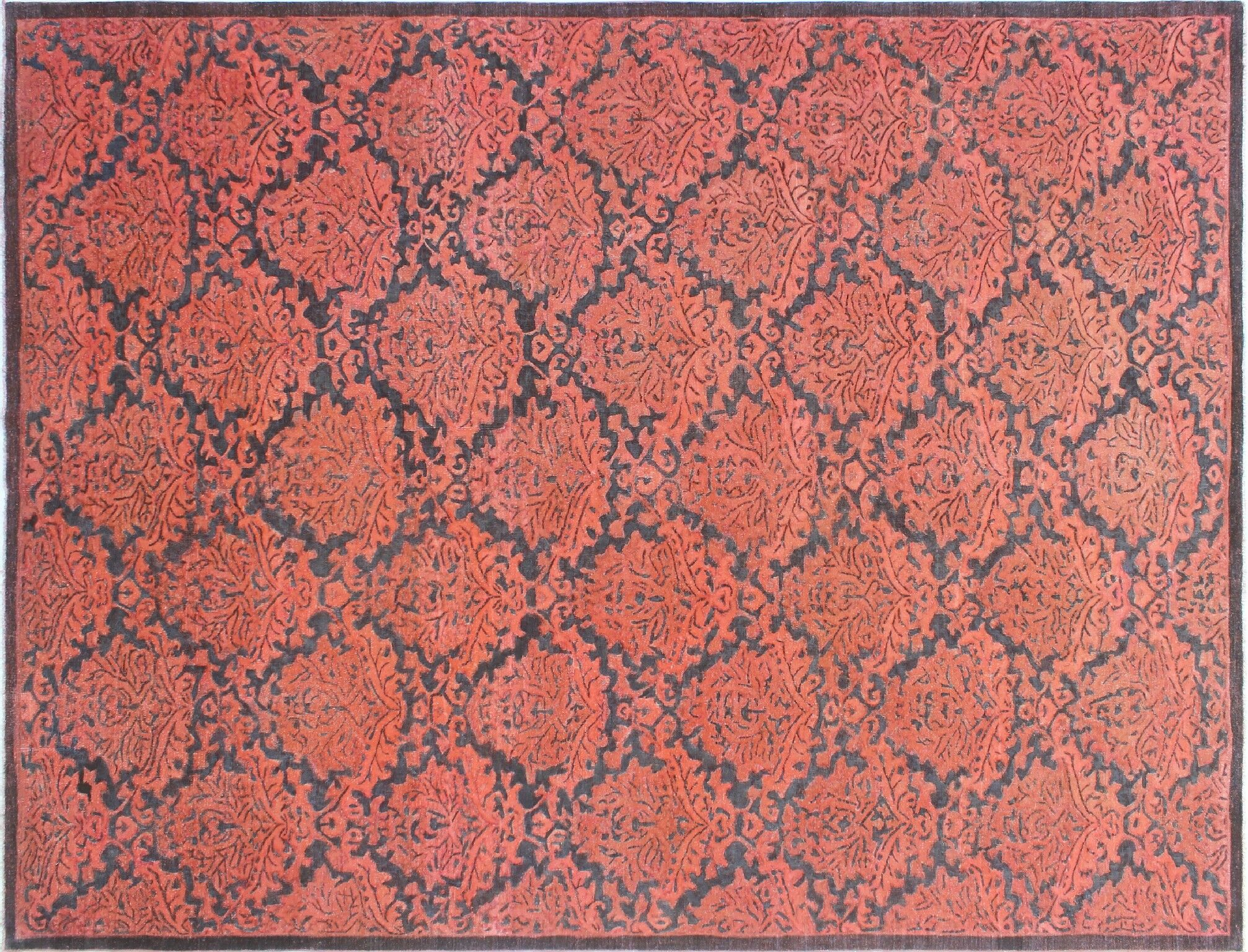 One-of-a-Kind India Hand-Knotted Gray Area Rug