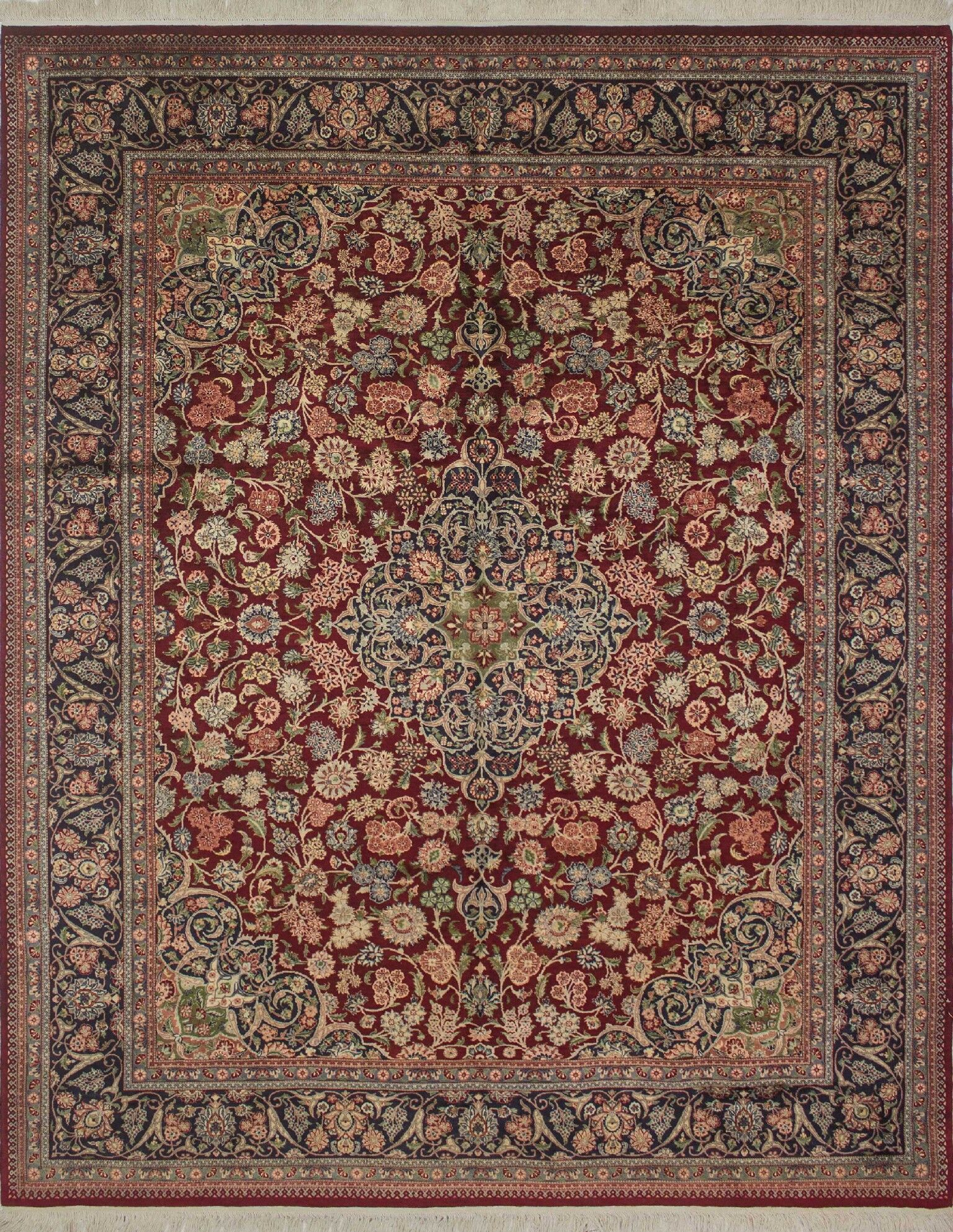 One-of-a-Kind Sattler Hand Knotted Wool Red Area Rug