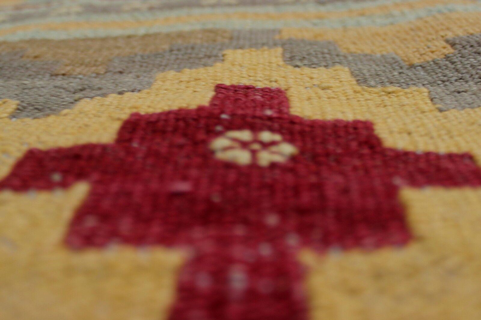 Rucker Hand Woven Wool Gray/Beige Area Rug