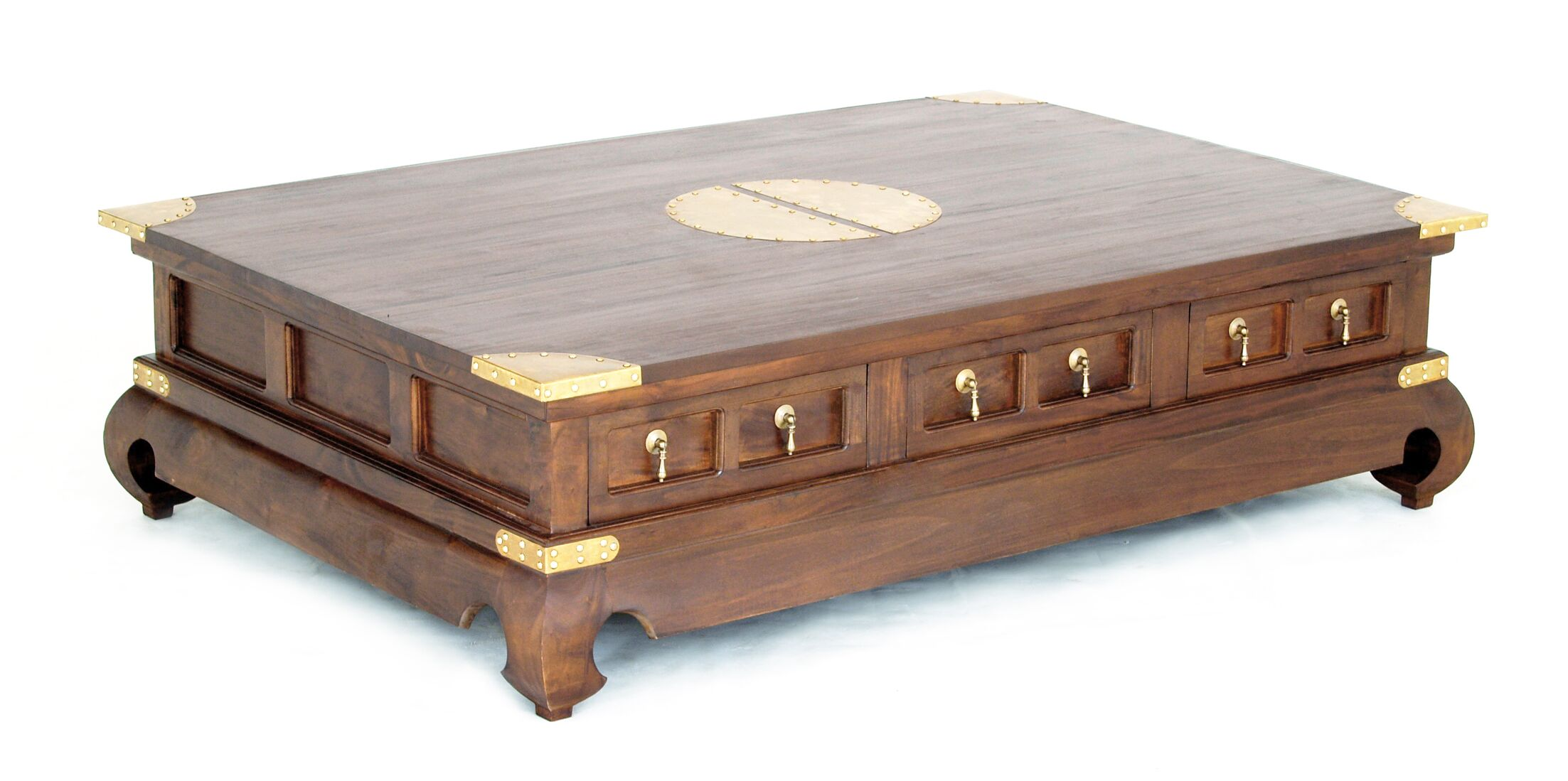 Becky Fine Handcrafted Solid Mahogany Wood Coffee Table