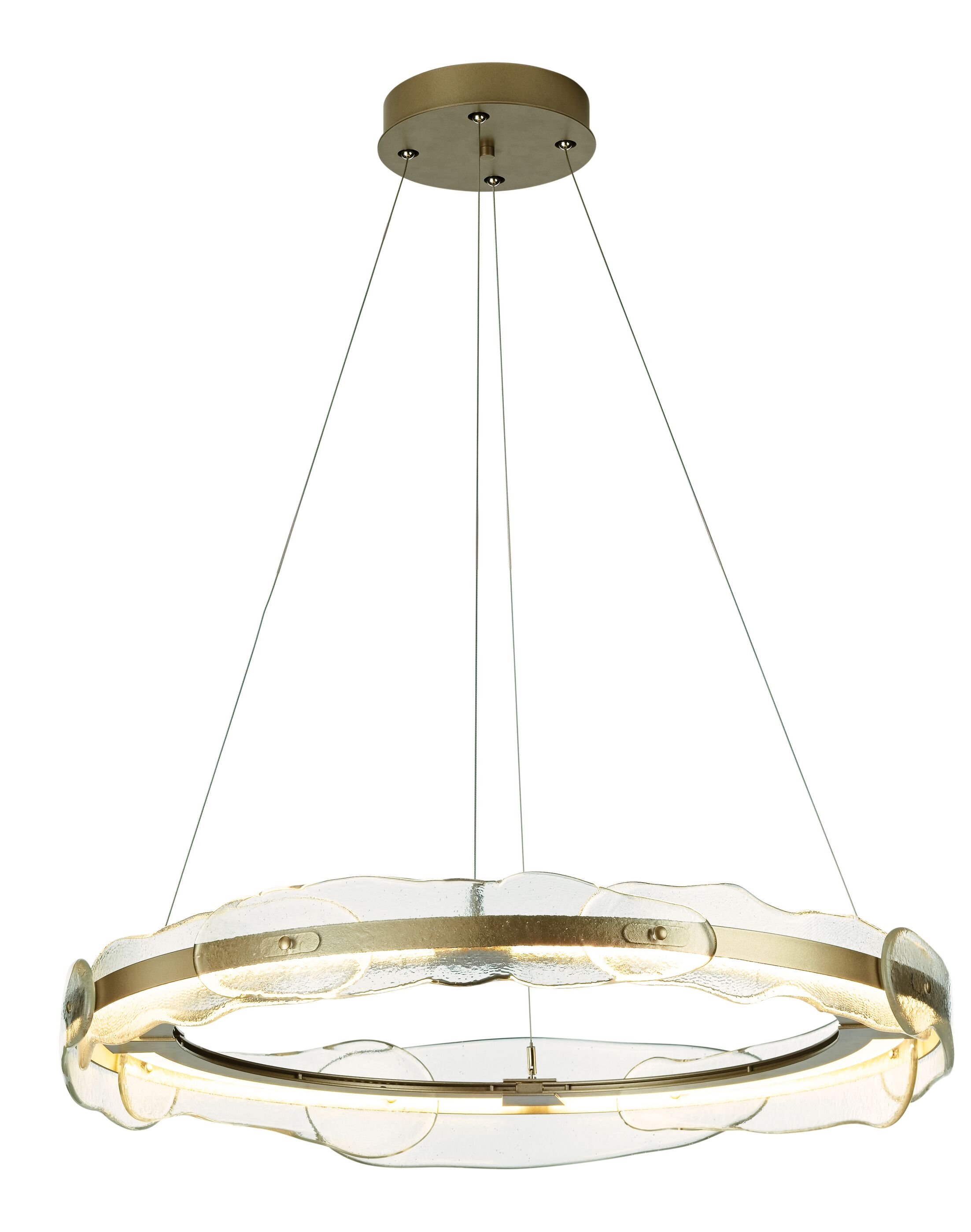 Portola LED Drum Pendant Finish: Burnished Steel