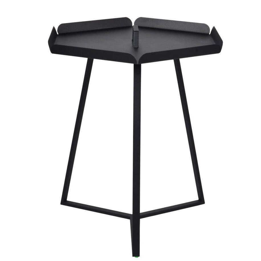 Versa End Table Color: Black