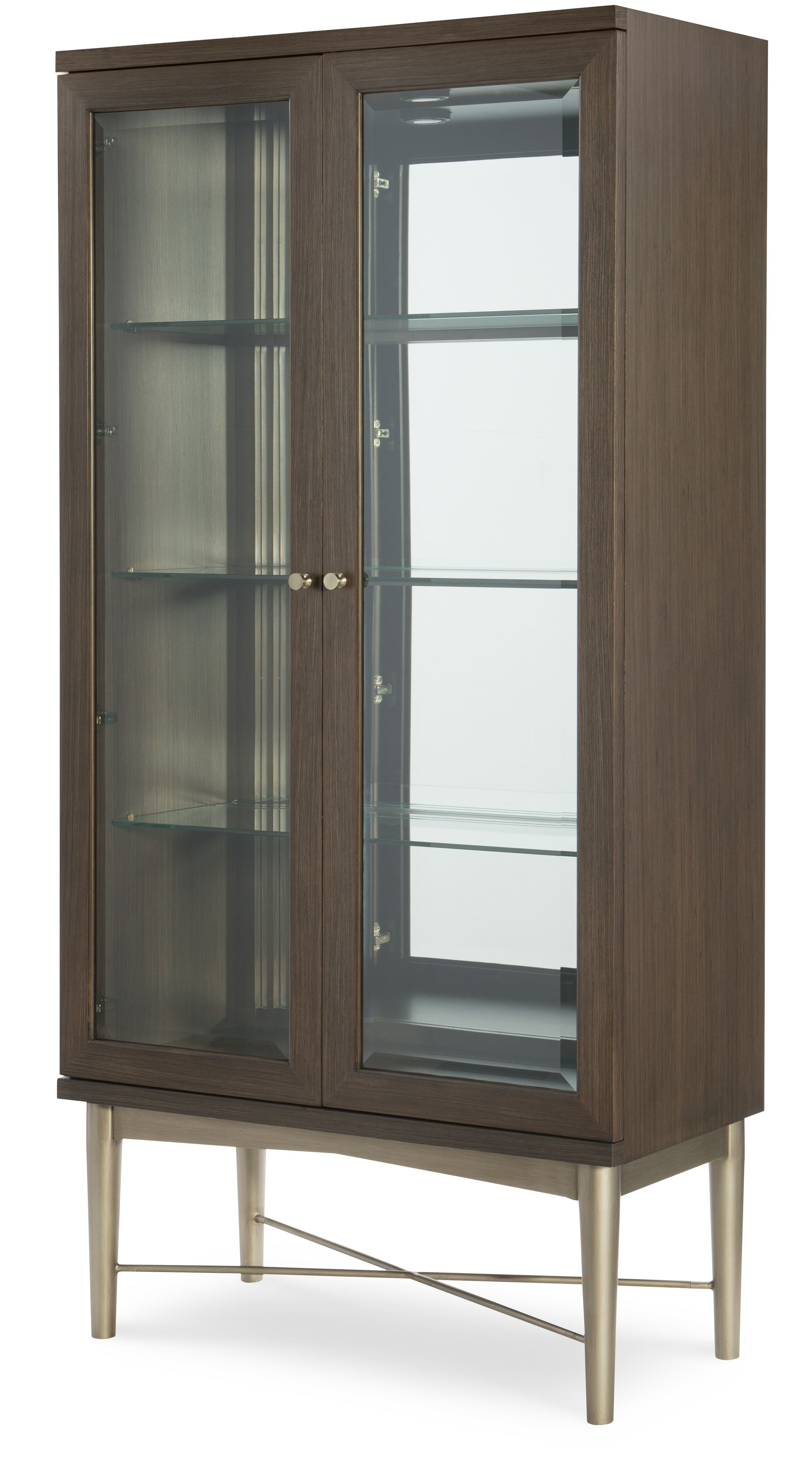Soho by Rachael Ray Home Lighted Curio Cabinet