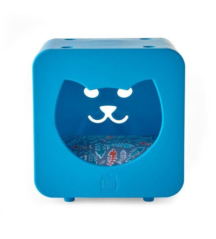Nicki Bedroom Cube Color: Blue