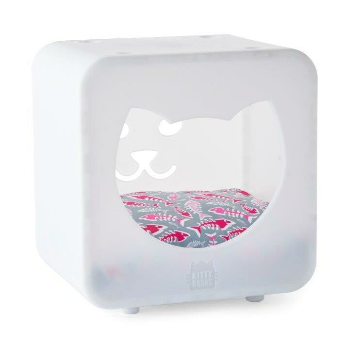 Nicki Bedroom Cube Color: White