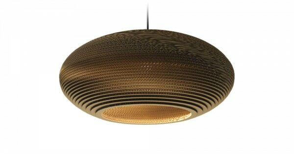 Scraplight Disc 1-Light Globe Pendant Size: 10.5