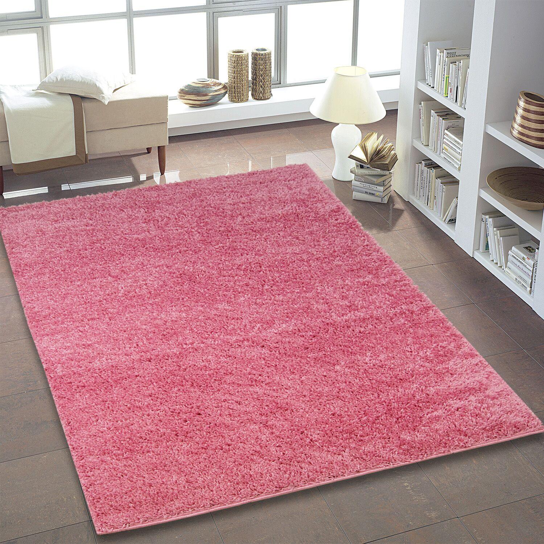 Bombay Pink Area Rug Rug Size: 6'5