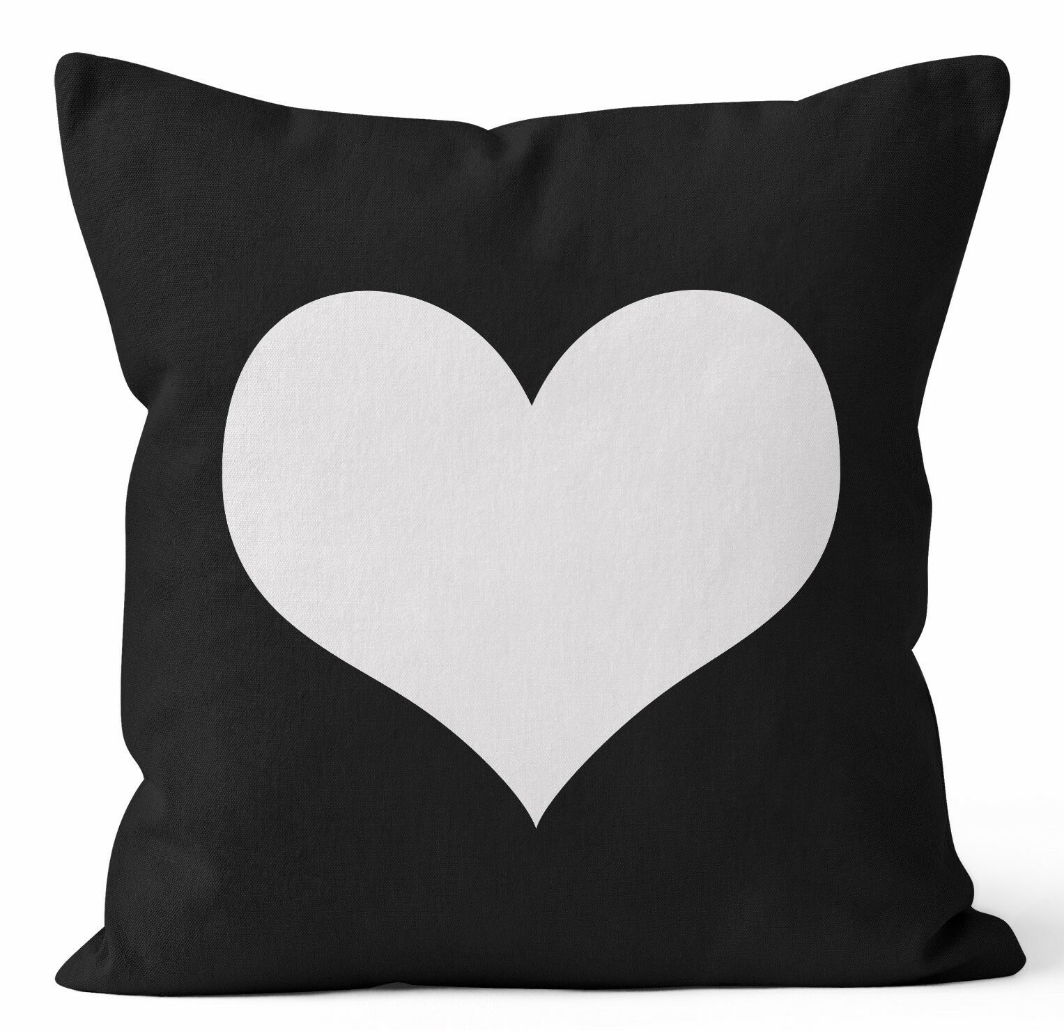 Heart Throw Pillow Size: 20