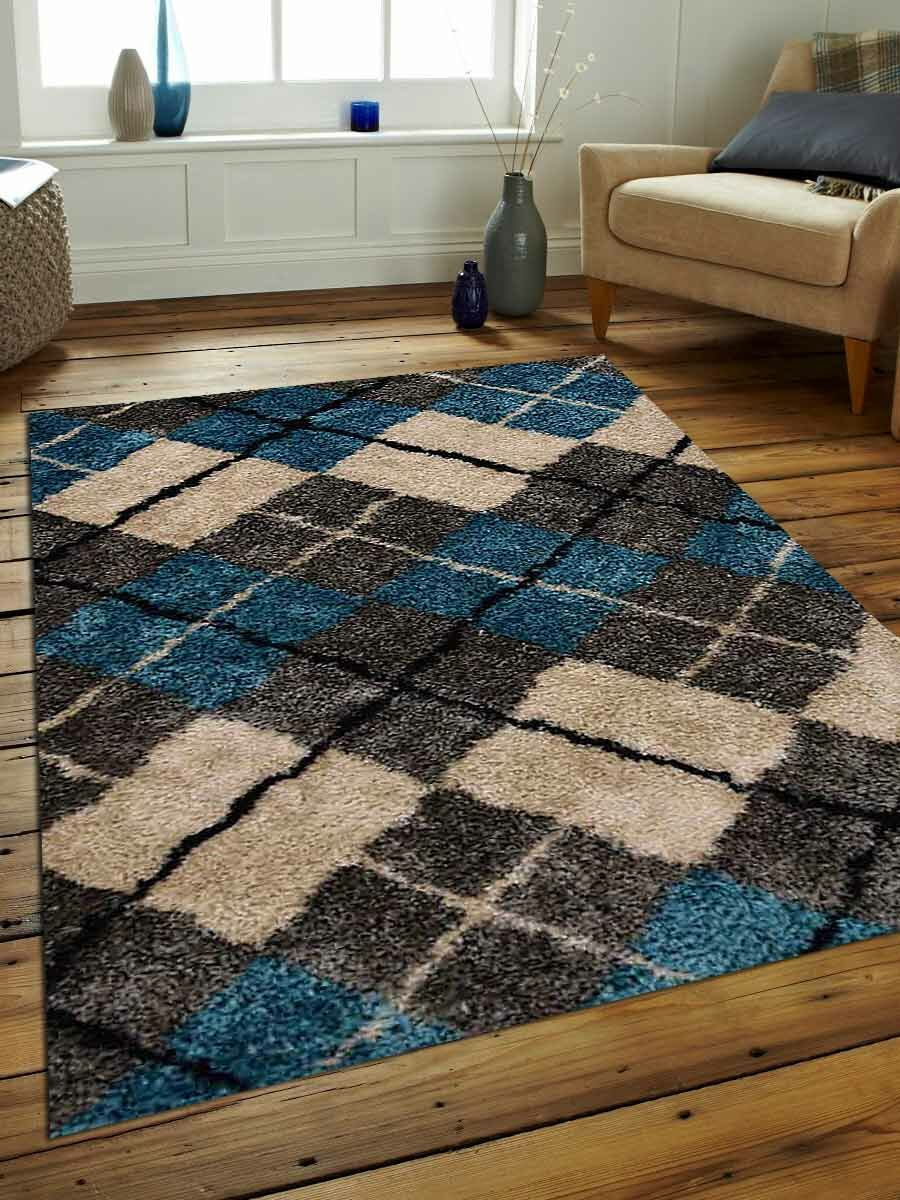 Vivas Hand-Woven Gray/Beige Area Rug Rug Size: Rectangle 8' x 10'