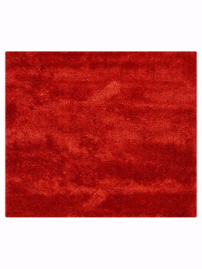Sophy Hand-Woven Red Area Rug Rug Size: Square 10'