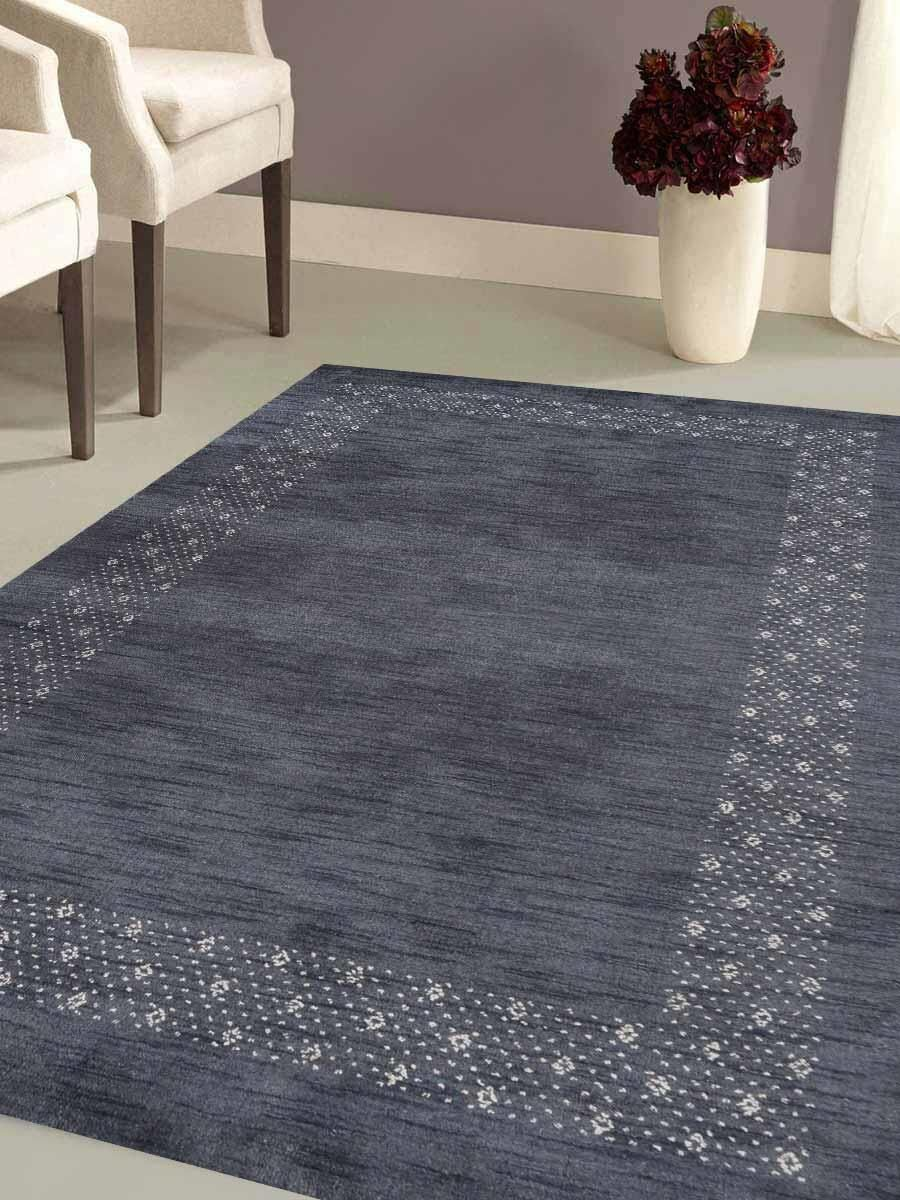 St Catherine Hand-Knotted Wool Gray Area Rug
