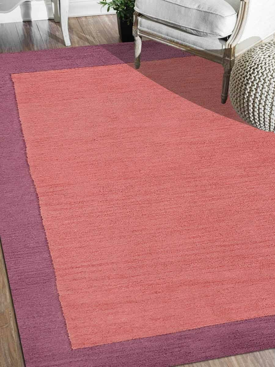 Creager Hand-Tufted Wool Pink/Purple Area Rug