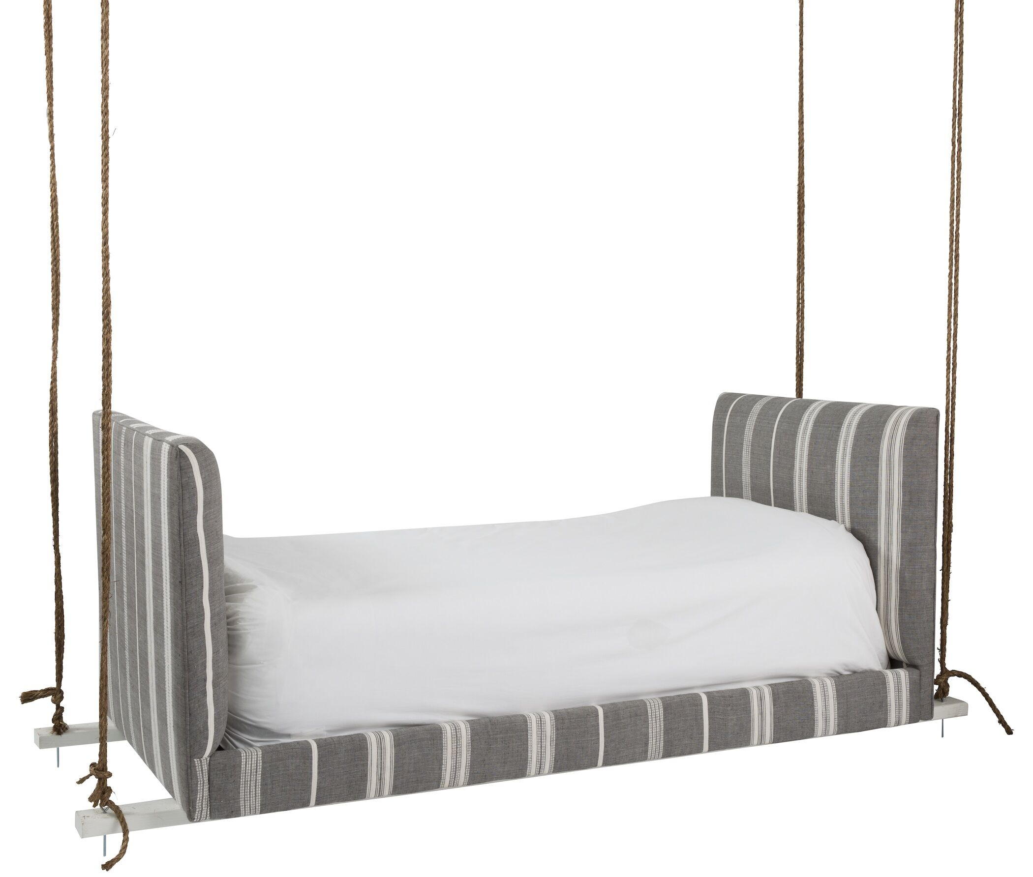 Daybed Color: Gray Pinstripe