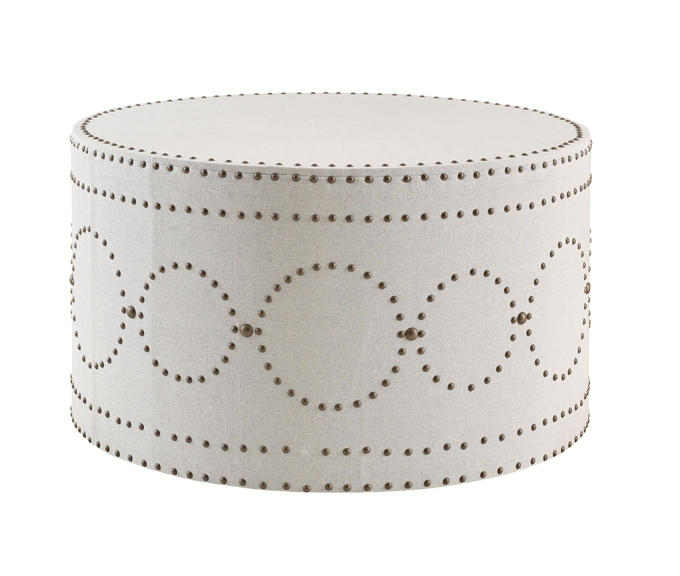 Sienna Coffee Table Color: Natural/Navy Stripe
