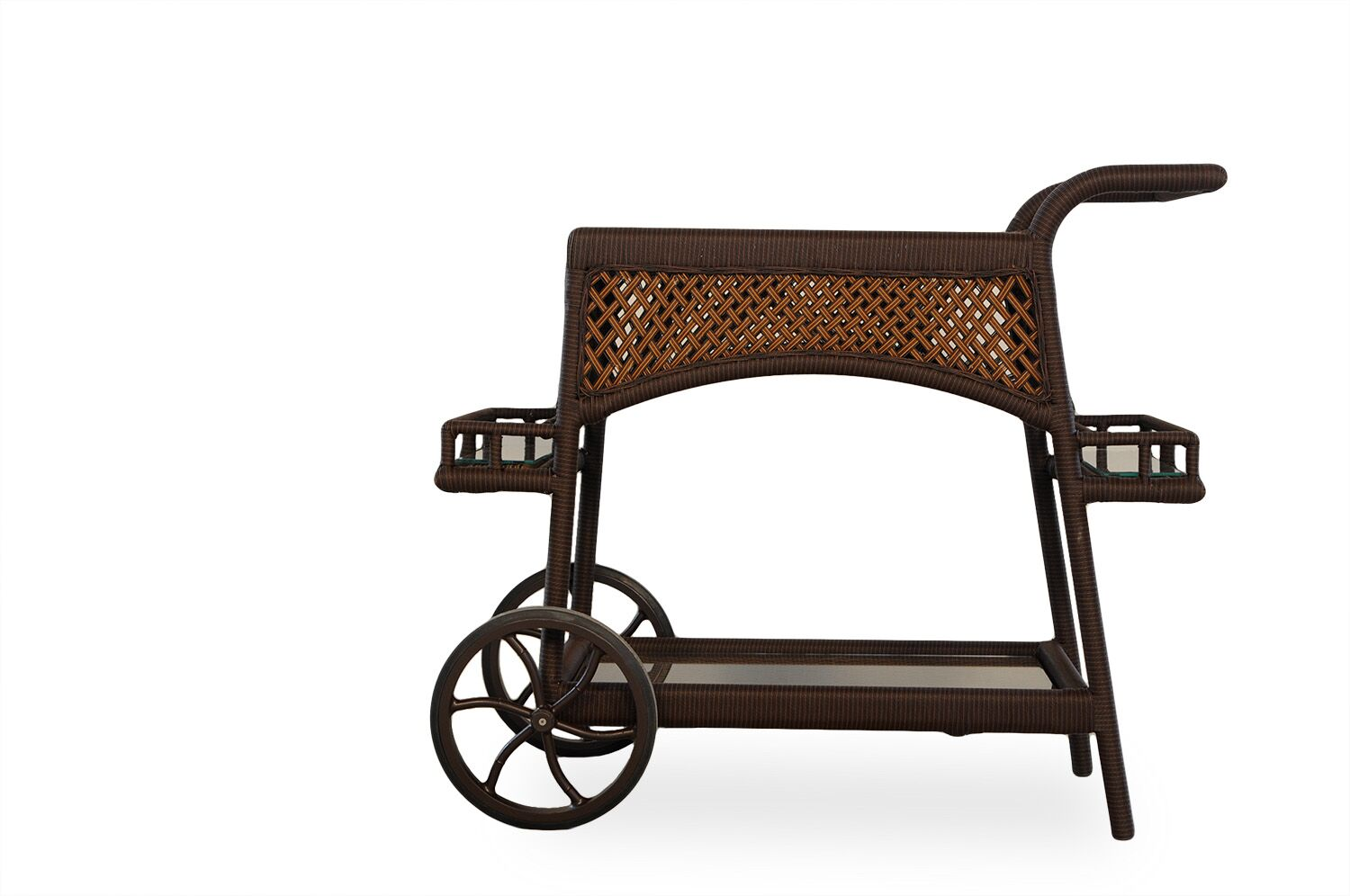 Grand Traverse Bar Serving Cart Finish: Caramel