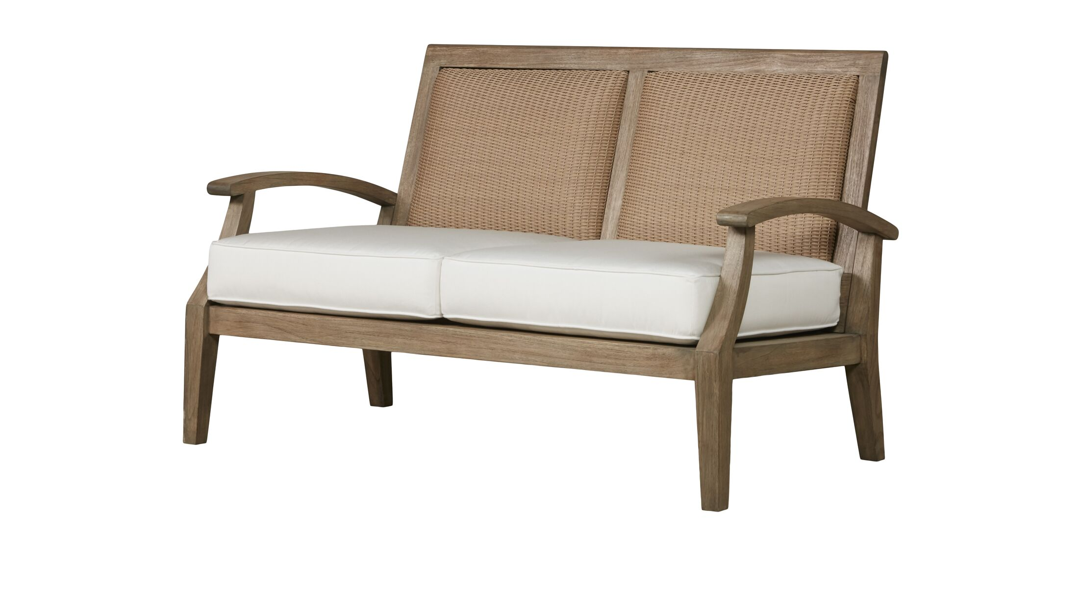 Wildwood Teak Loveseat with Cushions