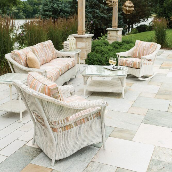 Nantucket 3 Piece Seating Group with Cushion