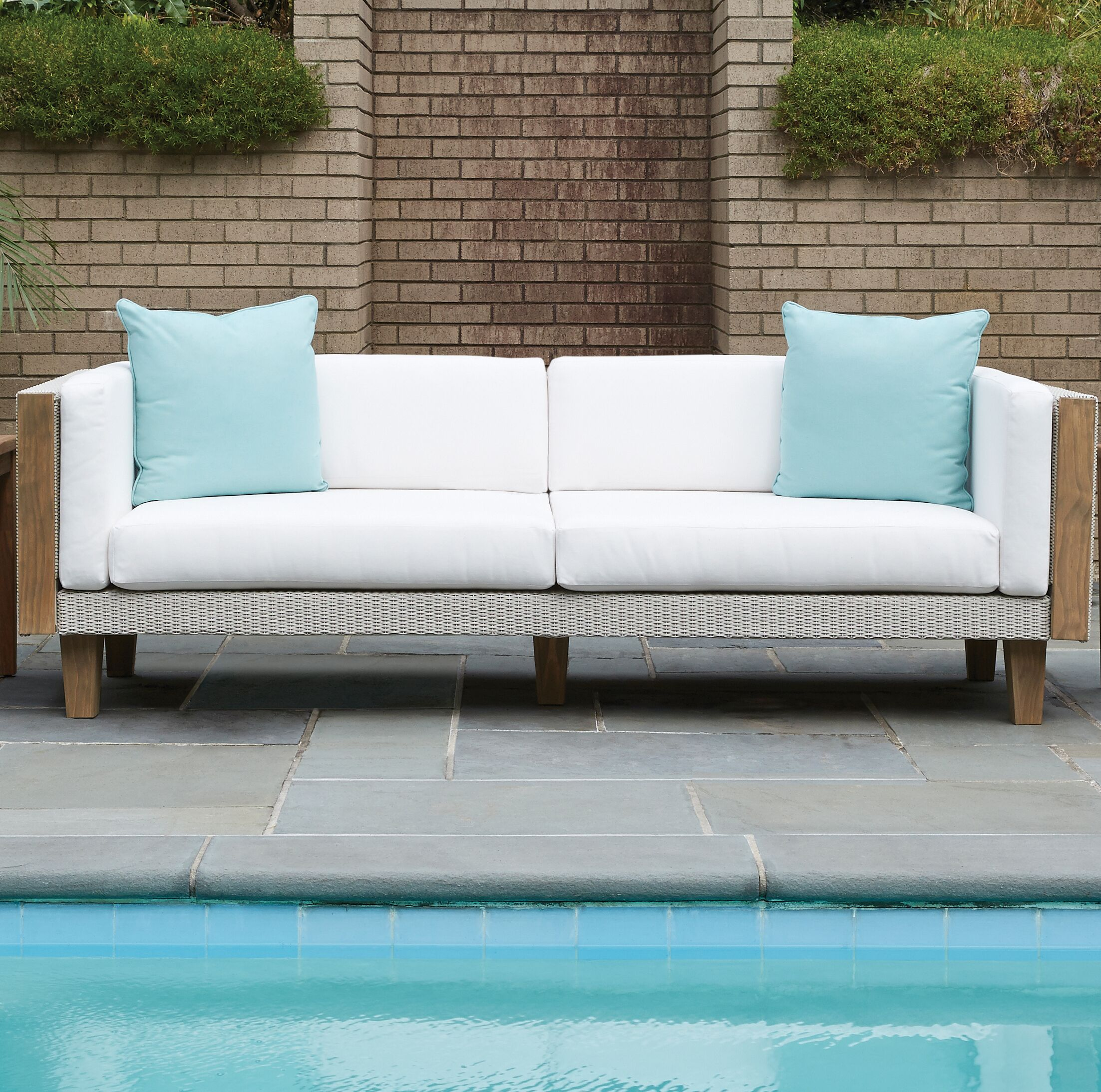 Catalina Patio Loveseat with Cushions