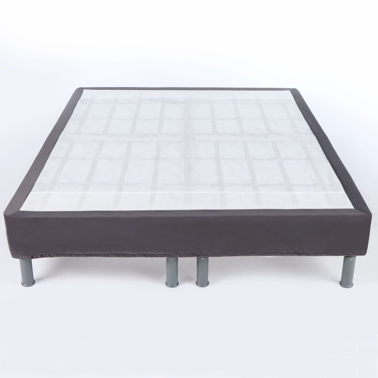 Premium Steel Mattress Foundation Size: King