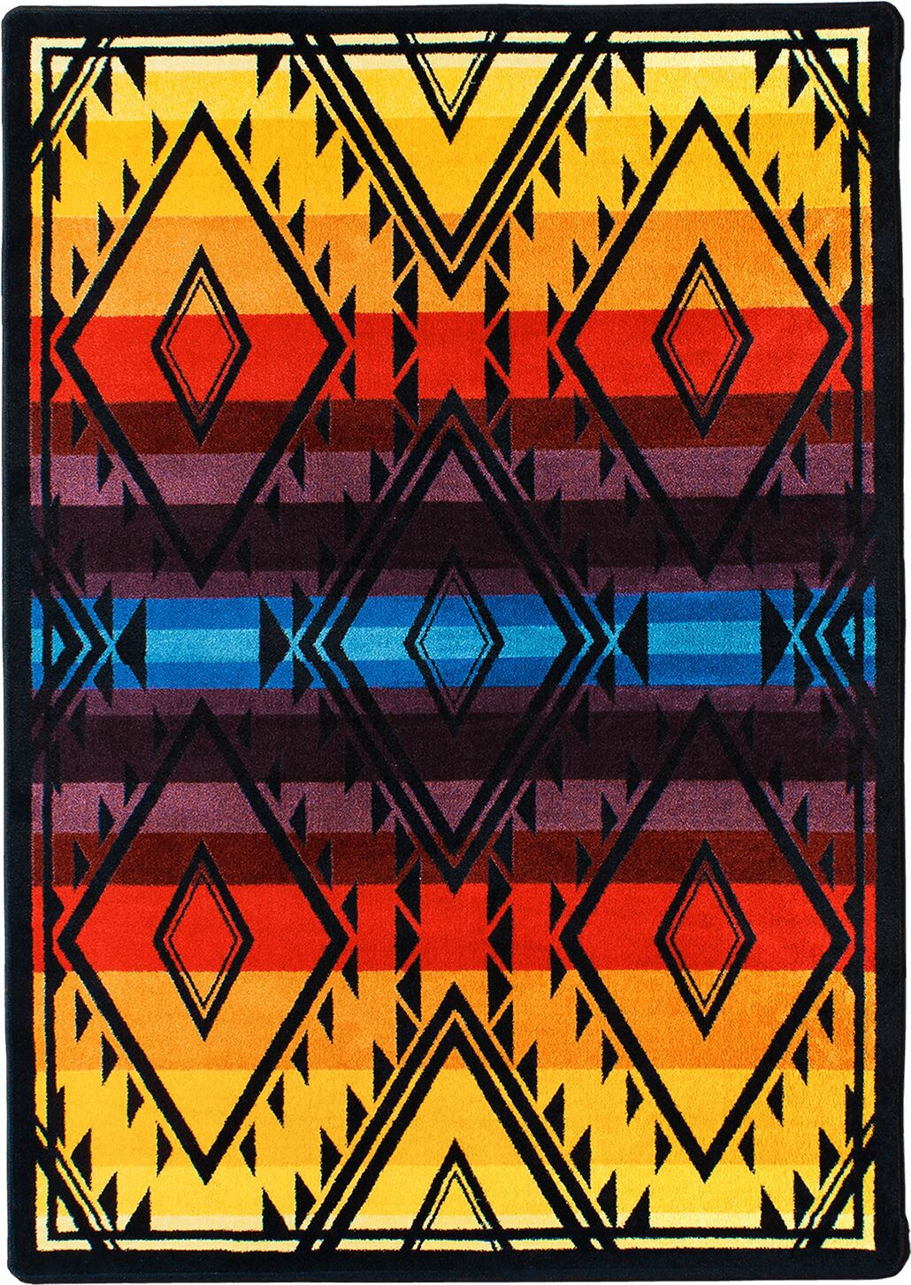 Johnny D Rainmaker Bright Area Rug Rug Size: Rectangle 3' x 4'