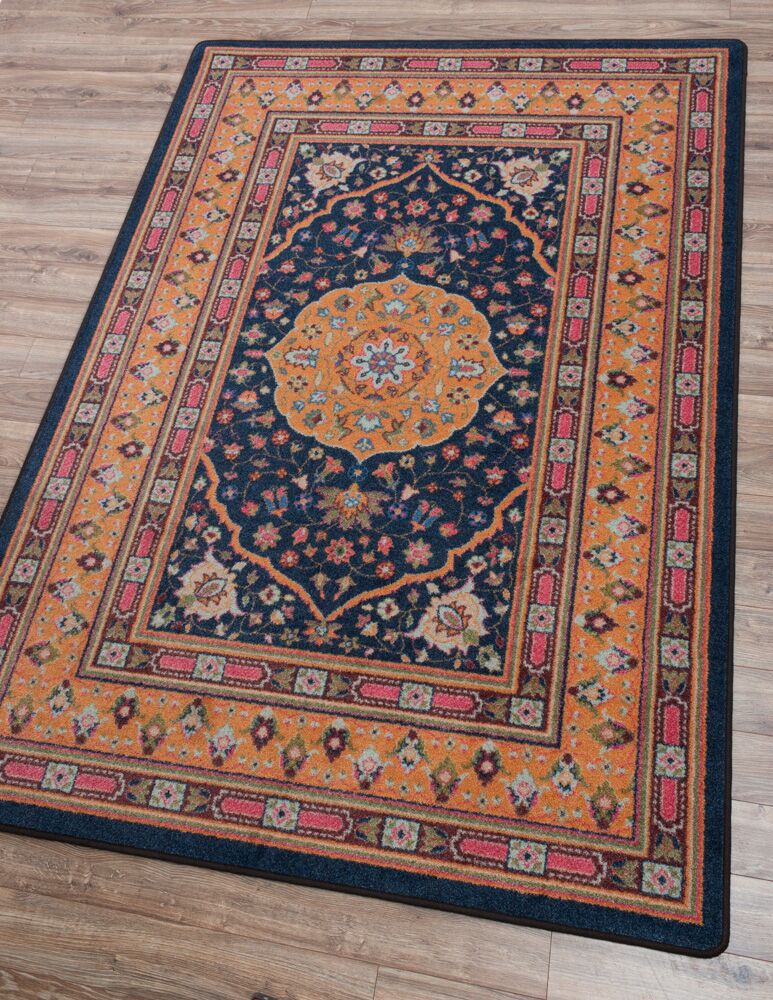 Robert Caine Zanza Bloom Area Rug Rug Size: Rectangle 3' x 4'