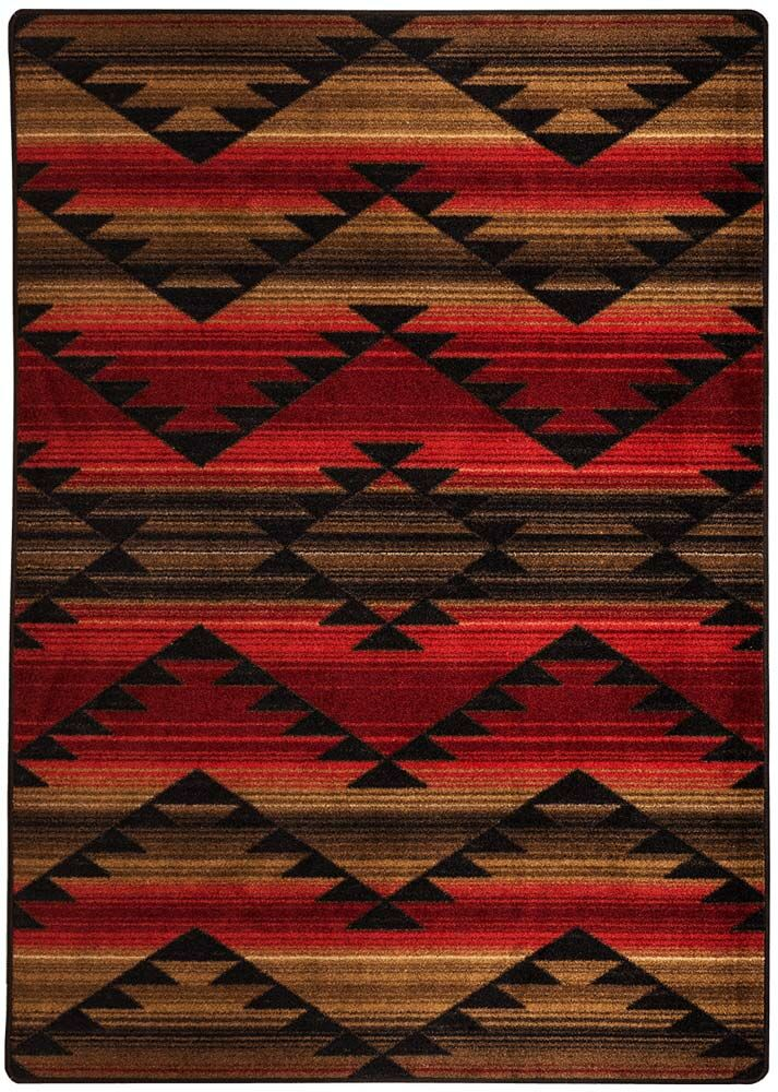 Cadnite Rumble Red Area Rug Rug Size: Runner 2' x 8'