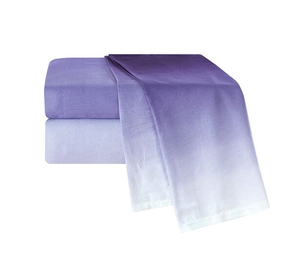 Port Lincoln Ombre 300 Thread Count Sheet Set Size: Full XL, Color: Purple