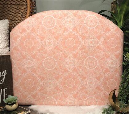 Hoppe Twin/Twin XL Upholstered�Panel Headboard Upholstery: Light Pink