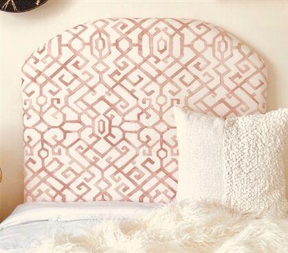 Dewsbury Arched Twin/Twin XL Upholstered Panel Headboard