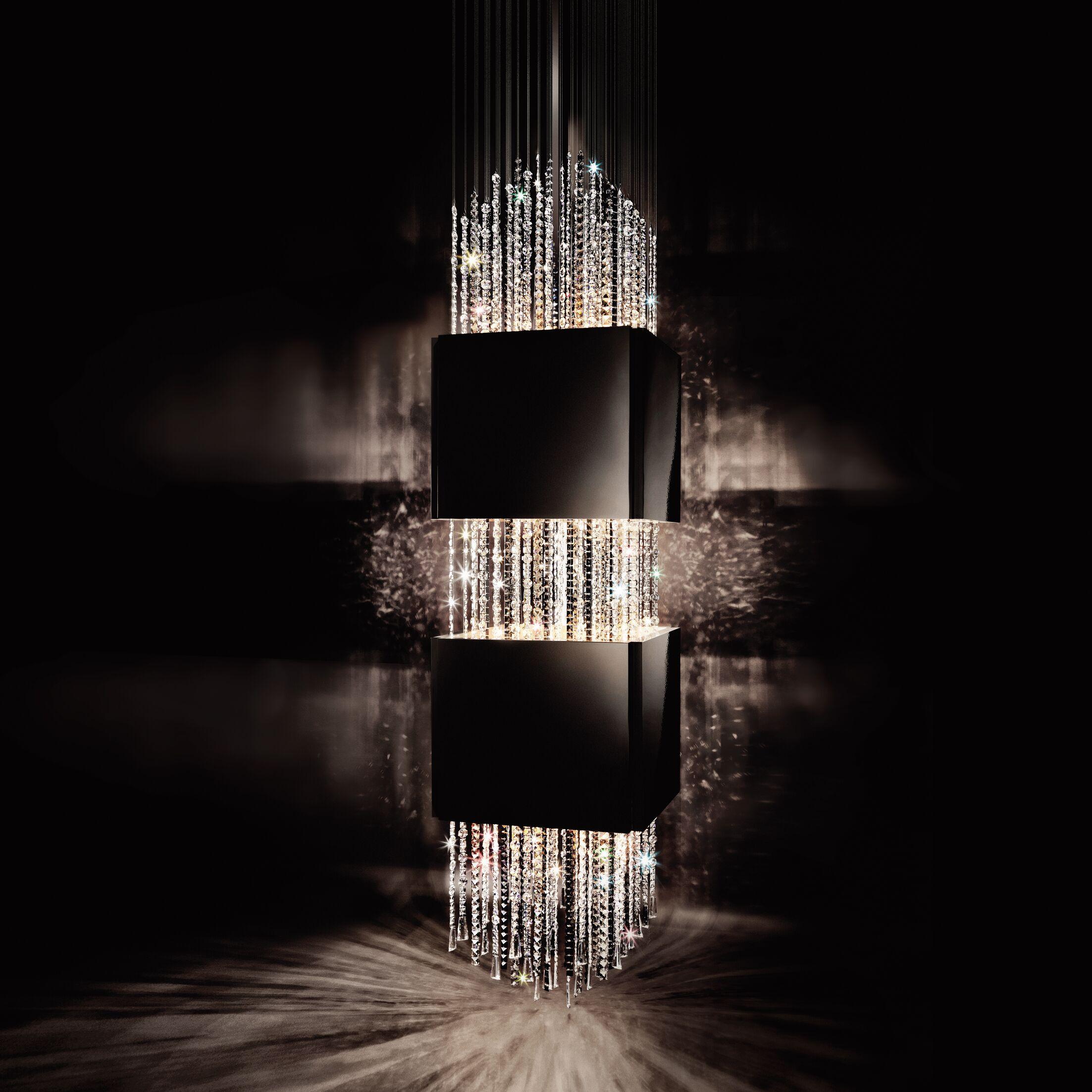 Casino Royal 16-Light Crystal Chandelier Size: 78.7
