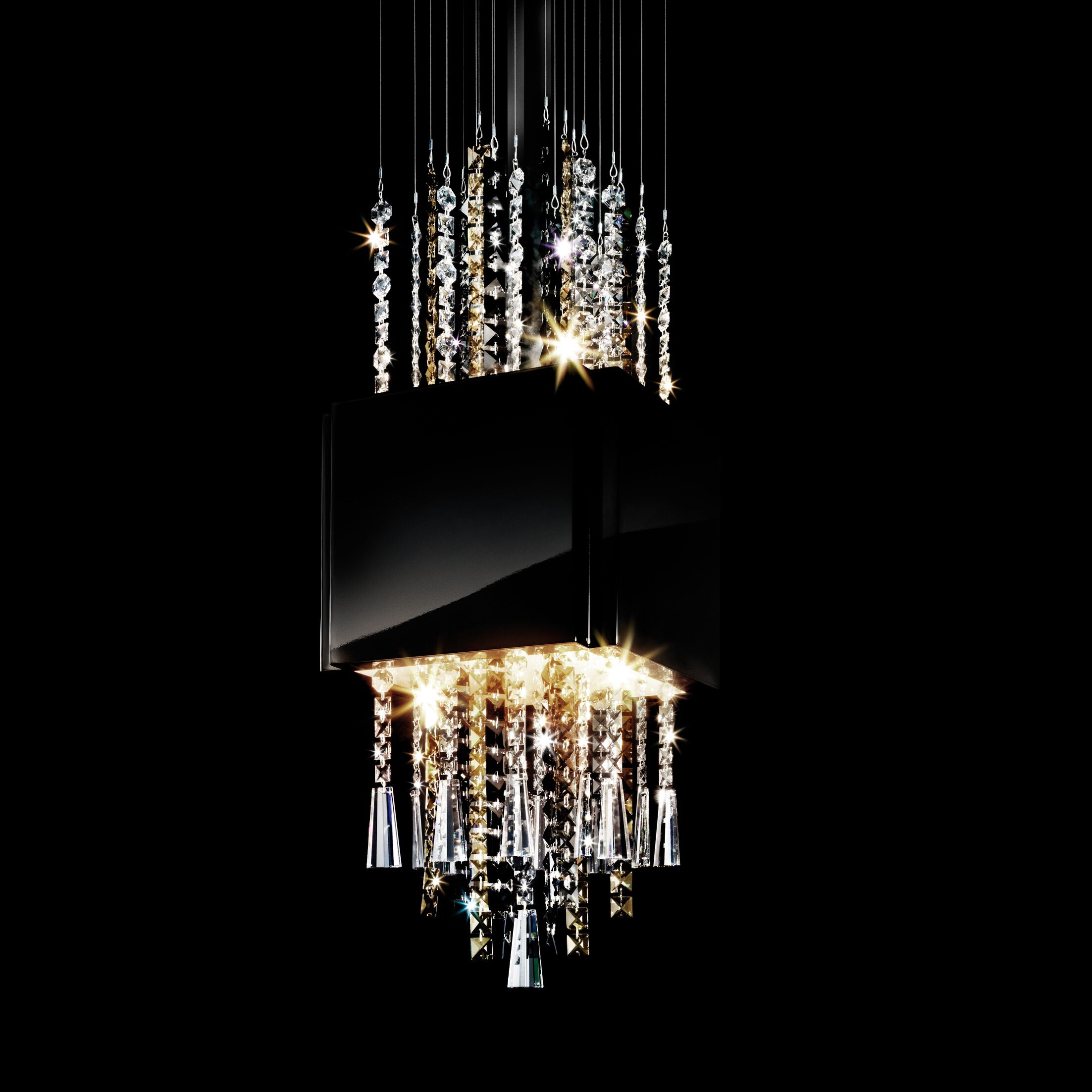 Casino Royal 8-Light Crystal Pendant
