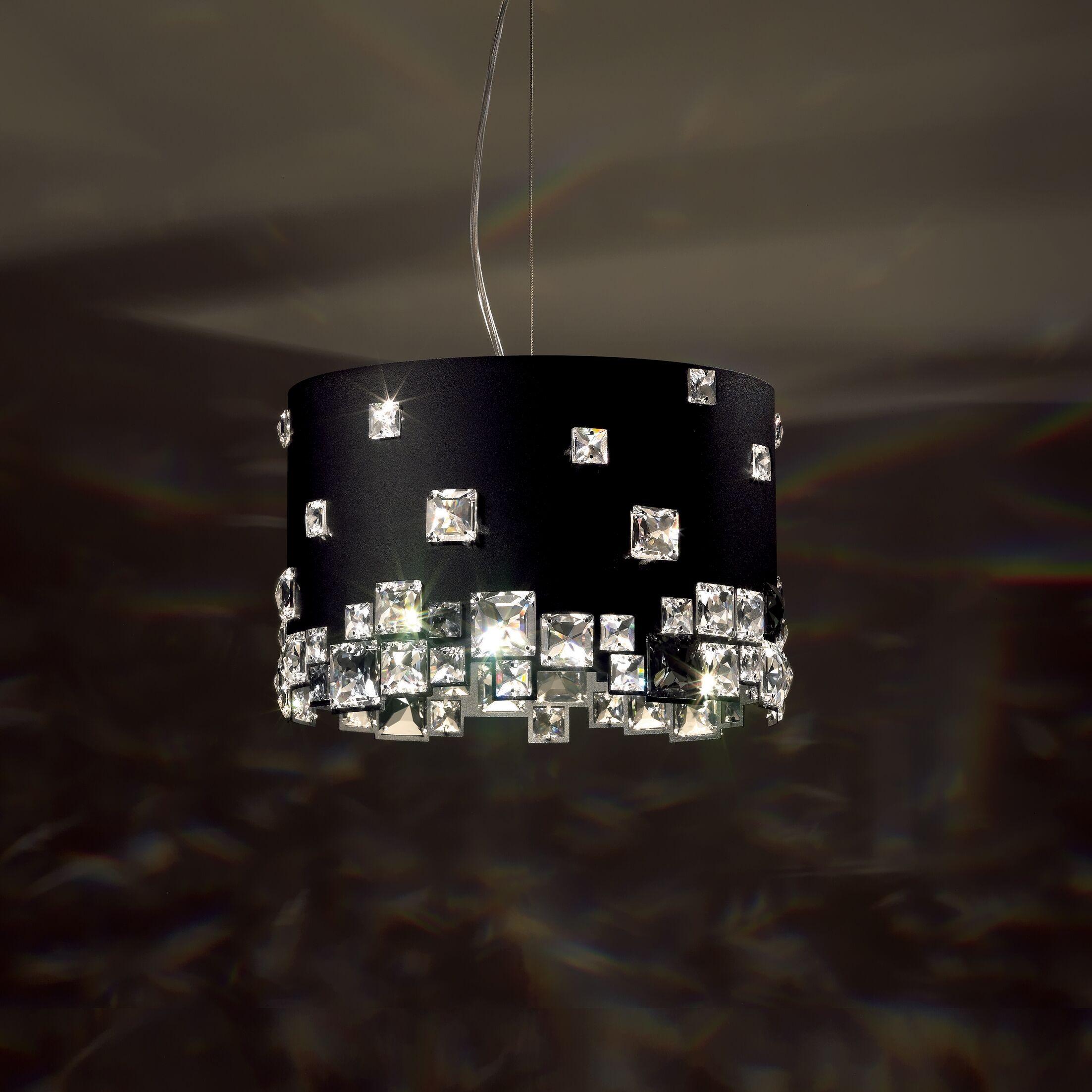 Mosaix 6-Light Pendant Base Finish: Stainless Steel