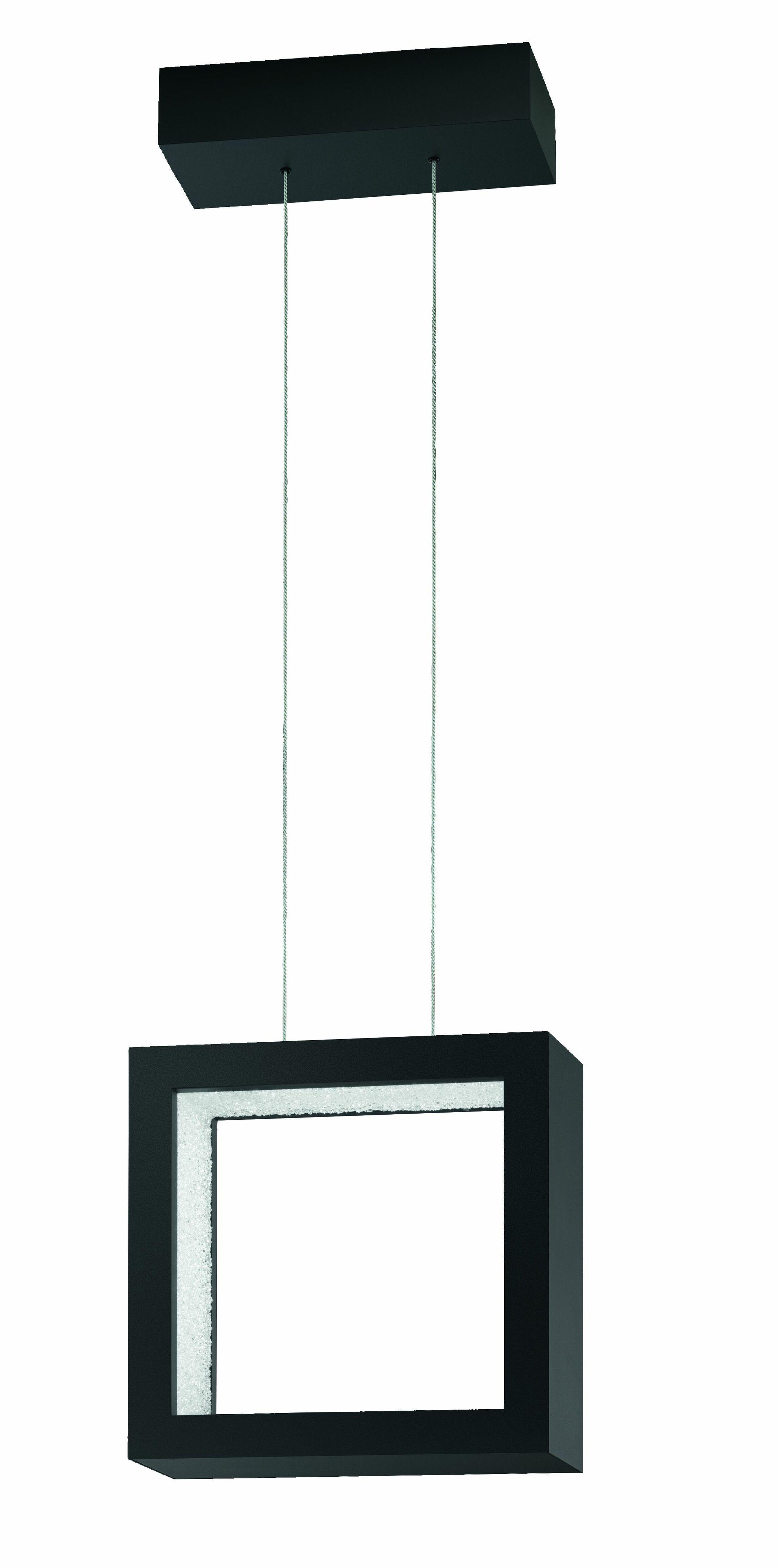 ReveaLED Open 8-Light LED Kitchen Island Pendant Base Finish: Earth Black, Color Temperature: 4000K