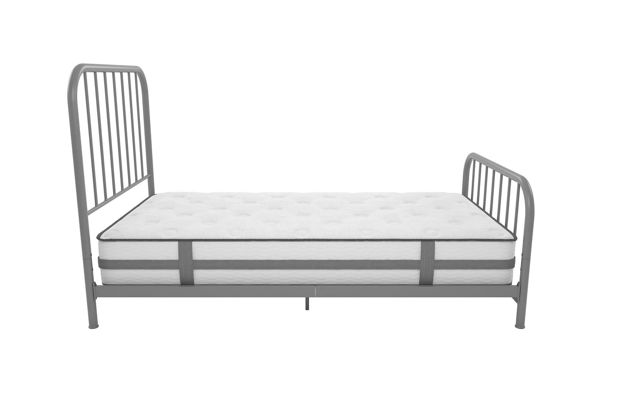 Bellamy Metal Platform Bed Size: King, Color: Gray