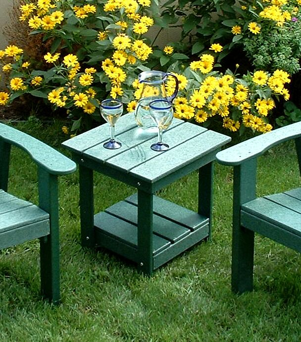 Adirondack Side Table Finish: Green