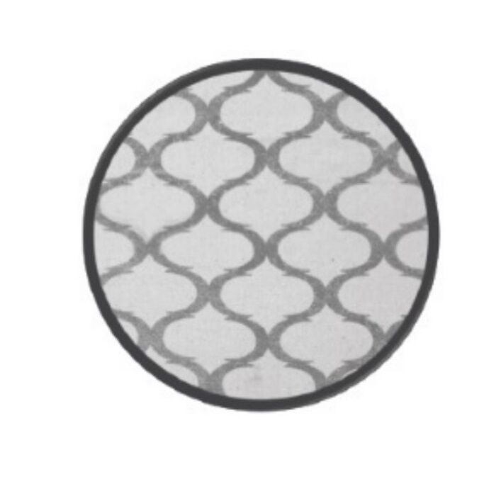 Coin Silver Area Rug Rug Size: 5' x 8'