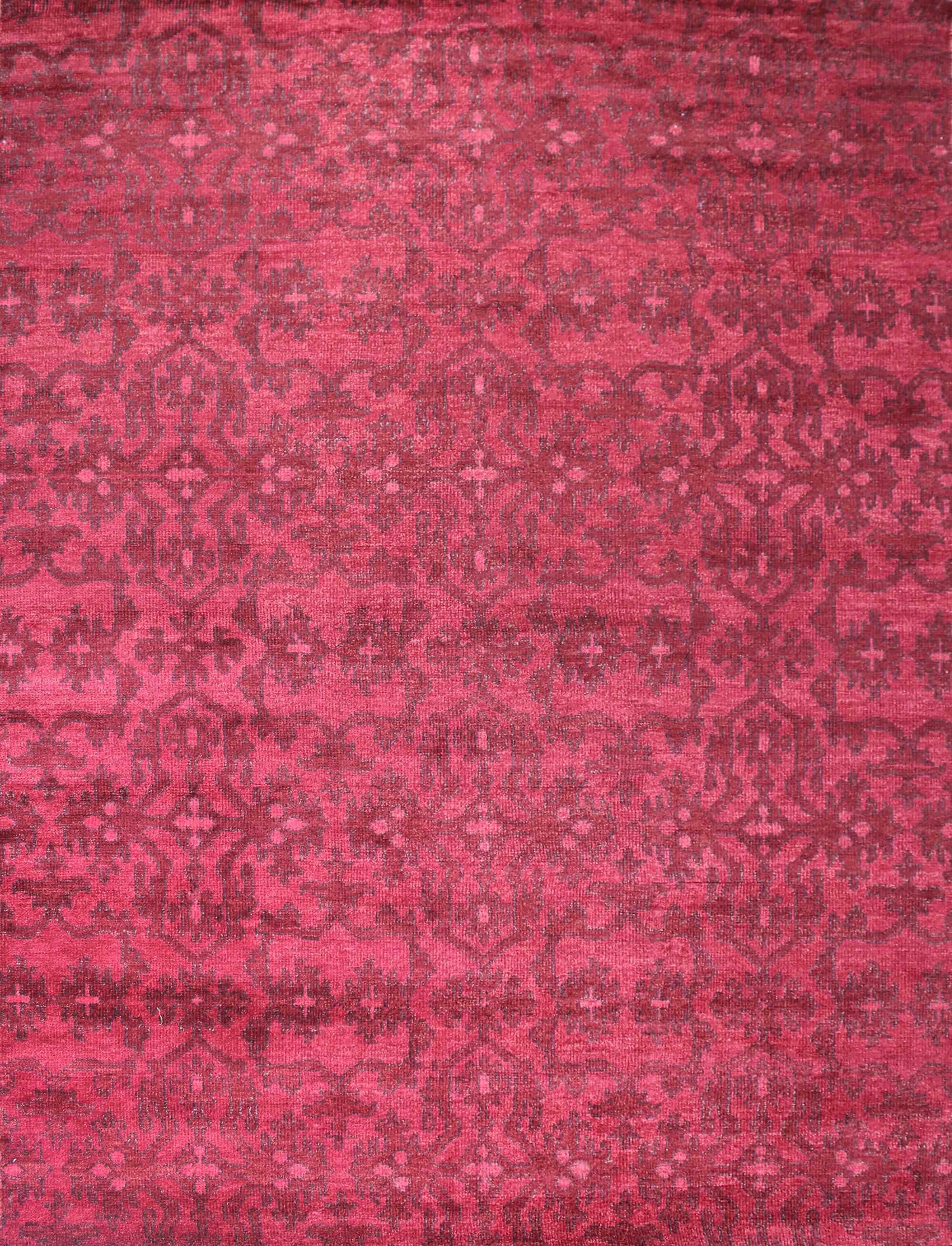 Kristi Red Rug Rug Size: 8' x 10'