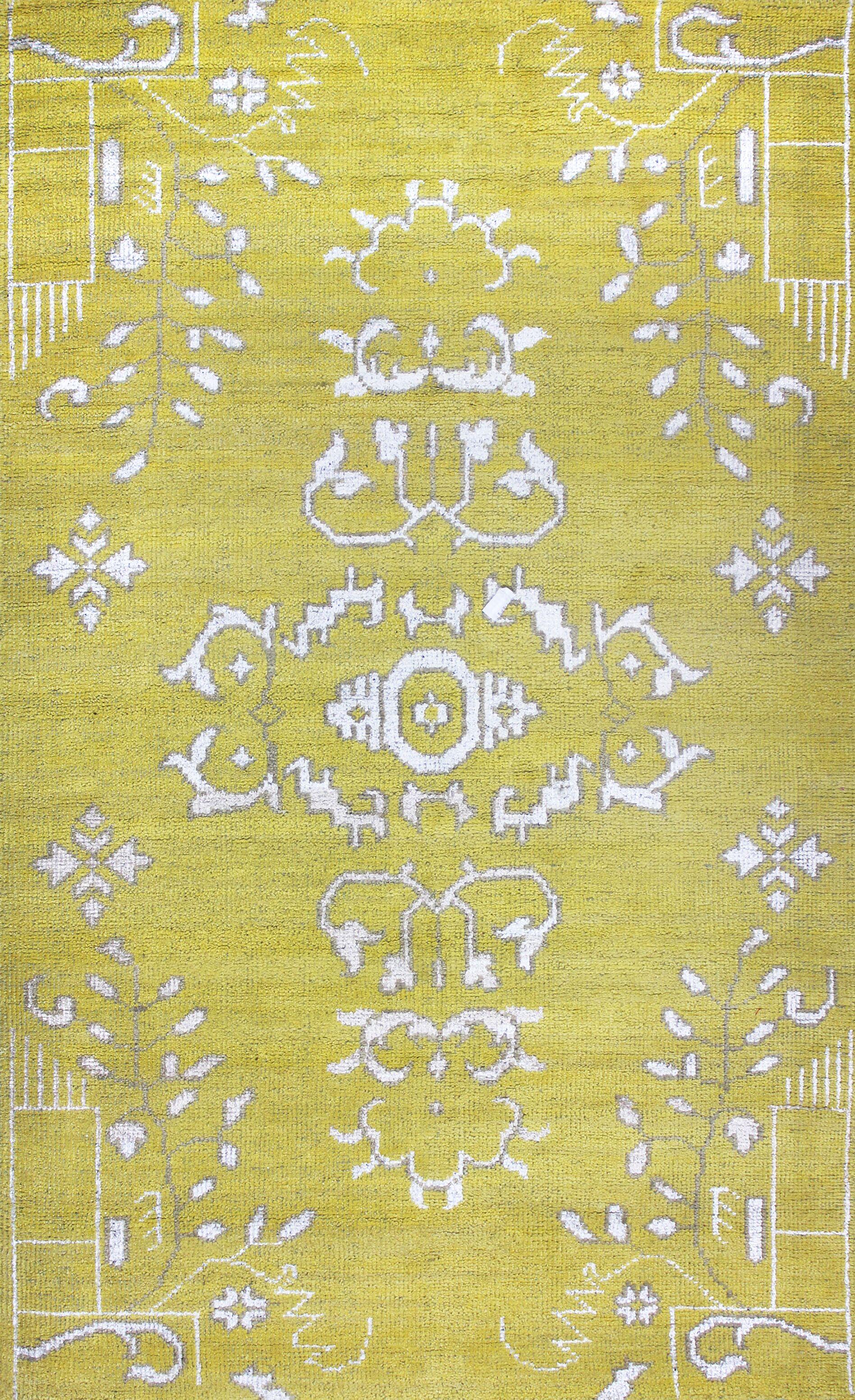 Kristi Gold Rug Rug Size: 9' x 12'