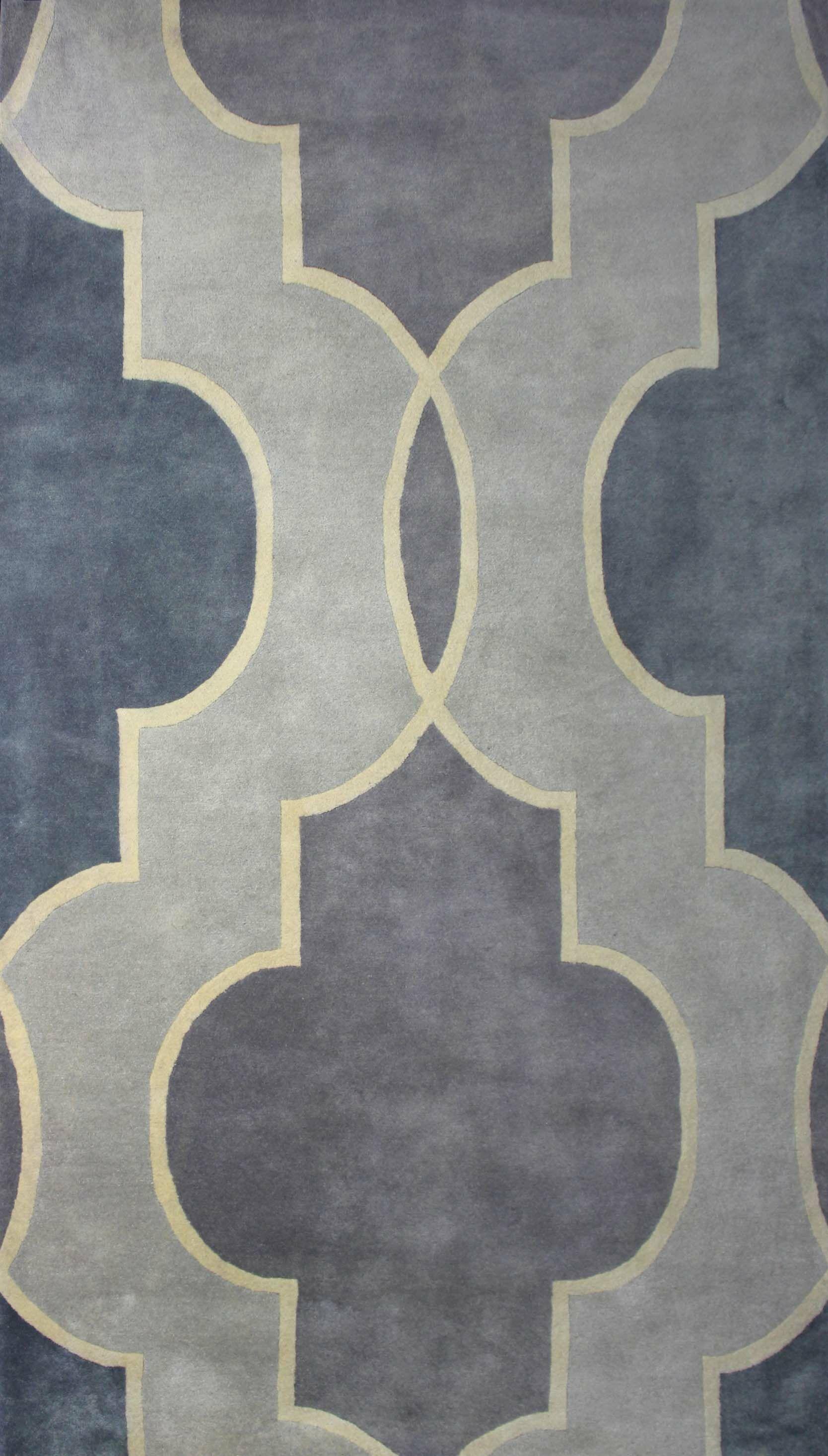 Wiener Grey Rug Rug Size: Rectangle 5' x 8'