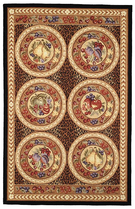 Brayton Fruits Novelty Rug Rug Size: Rectangle 7'9