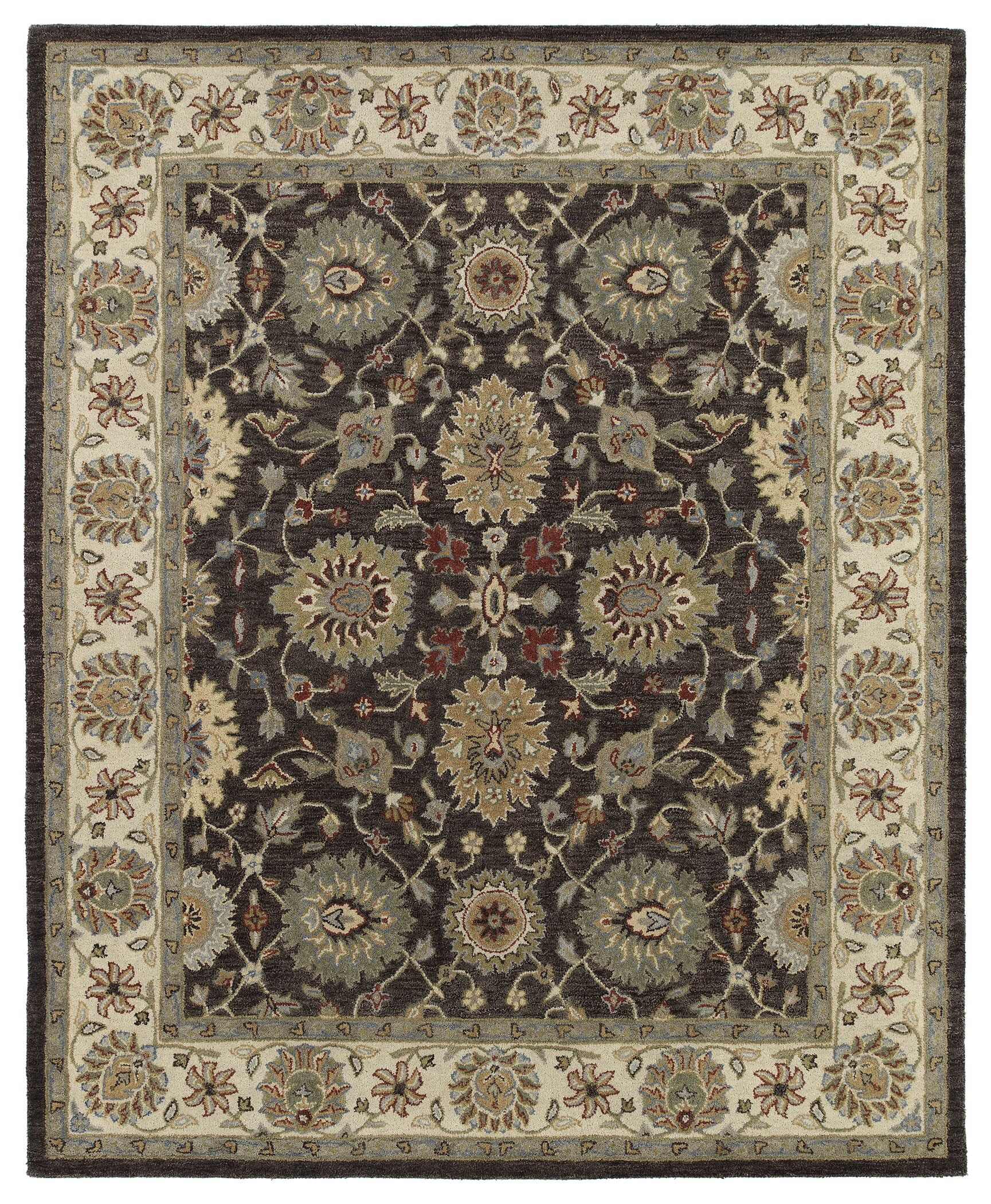 Chisolm Brown/Tan Area Rug Rug Size: Rectangle 10' x 14'