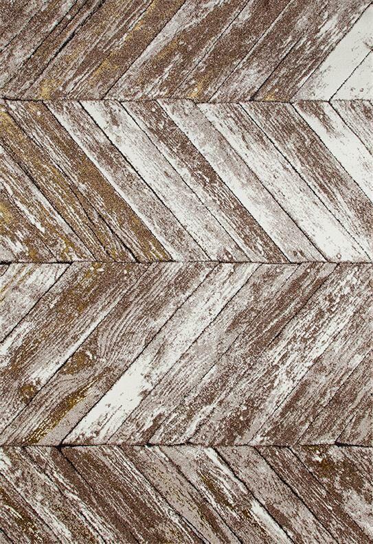 Victoria Beige/Gold Indoor/Outdoor Area Rug Rug Size: 5' x 7'