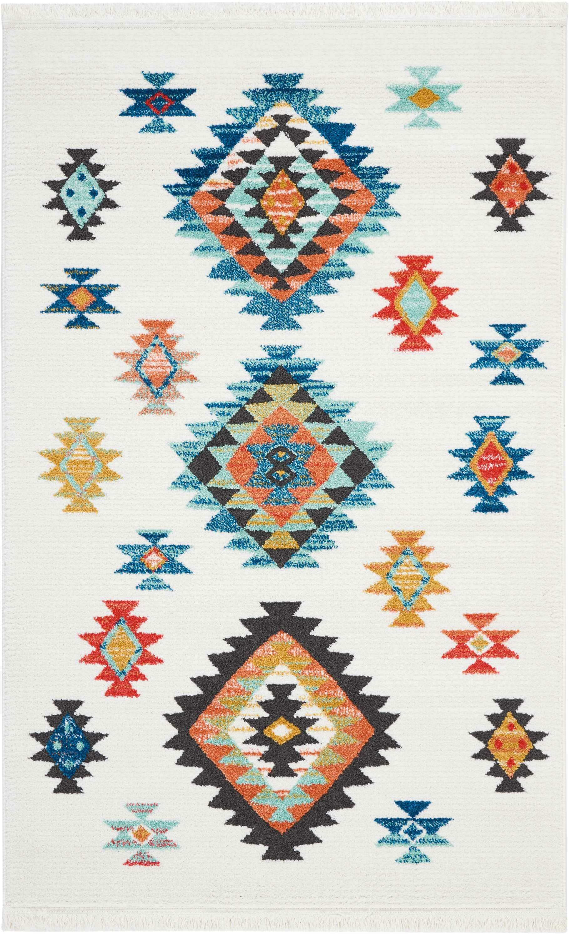 Pittsfield White Area Rug Rug Size: Rectangle 3'11
