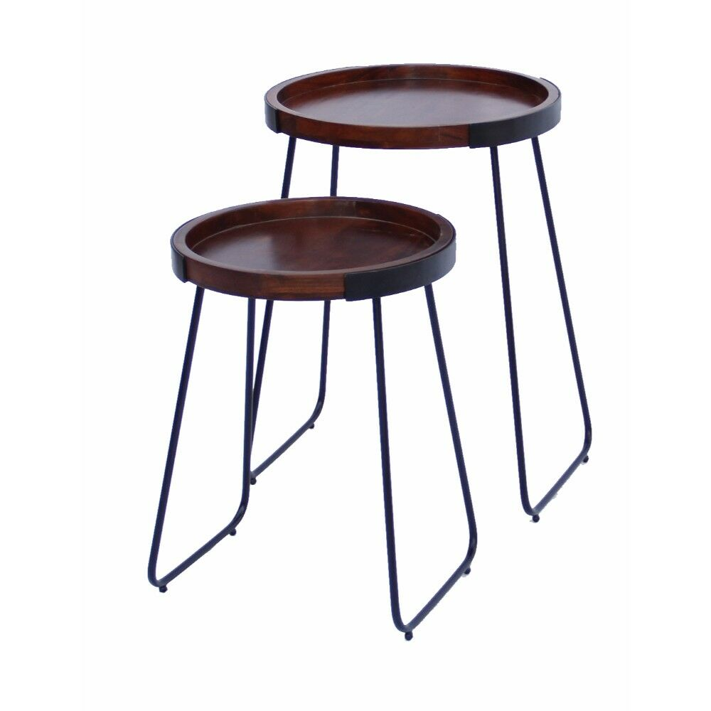 Littleton Stylish 2 Piece Nesting Tables