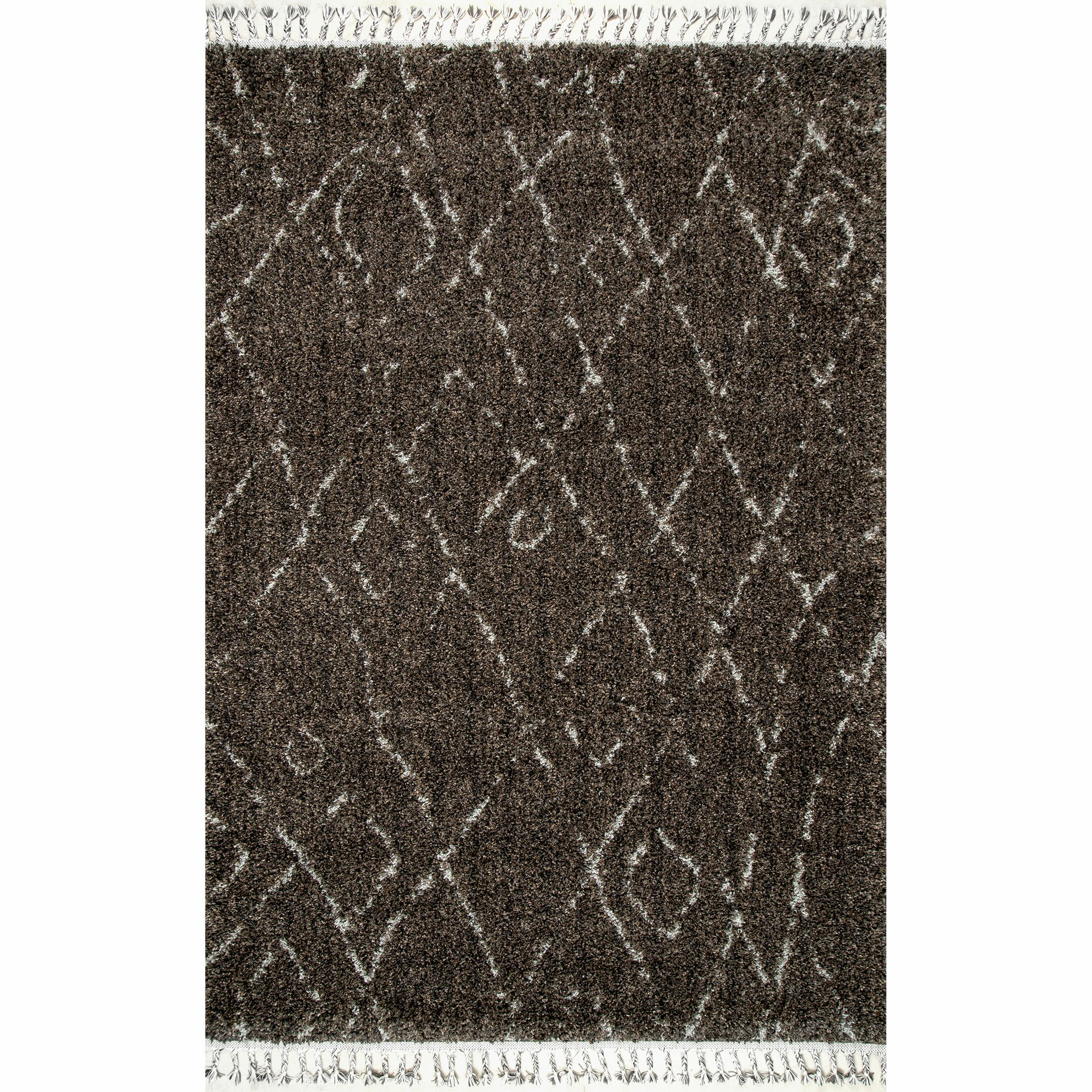 Portsmouth Brown Area Rug Rug Size: Rectangle 7'10