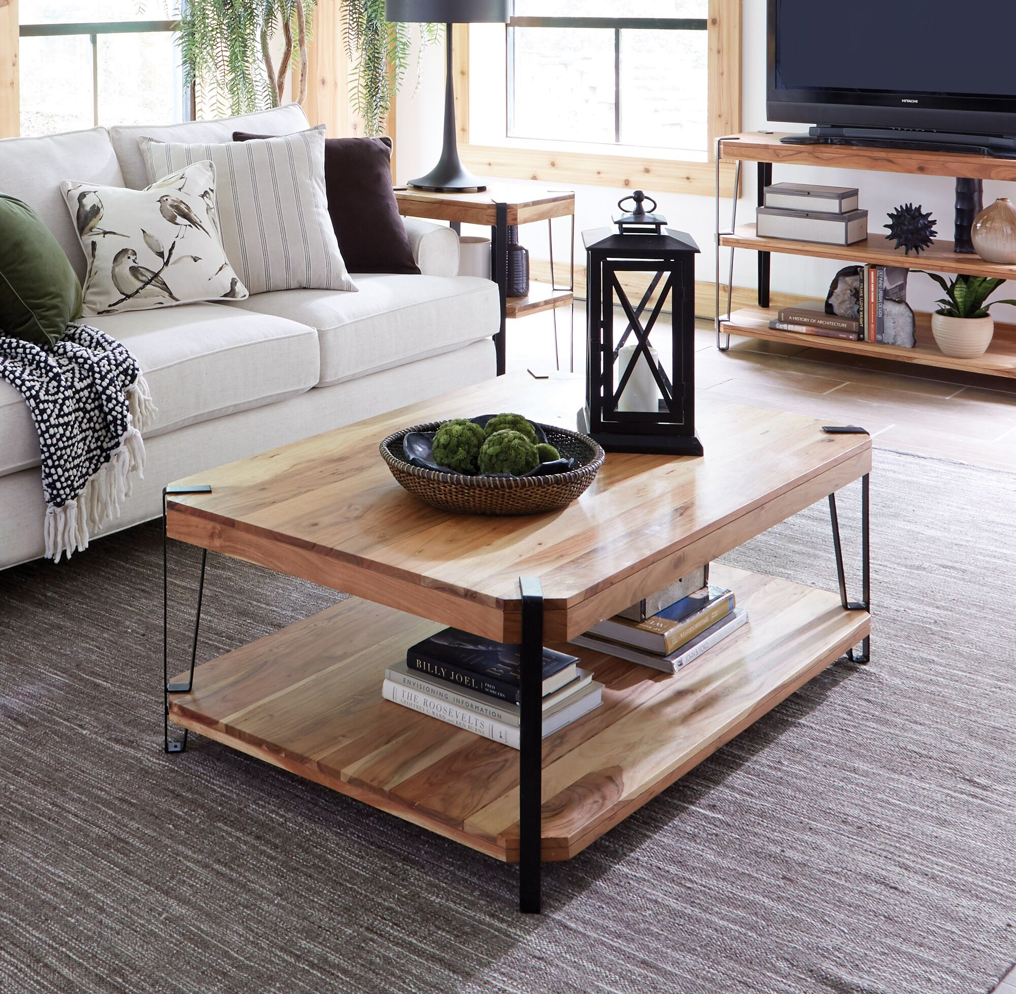 Tindal Coffee Table Size: 48